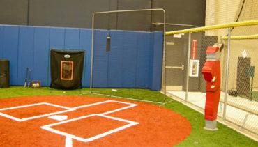 Baseball Back-Up Net.