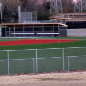 Custom Dugouts at Baseball Complex.