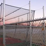 Custom Batting Cage at Baseball Complex.