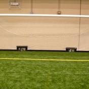 Custom Wheeled Soccer Goal at Indoor Sports Complex.