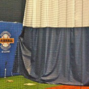 Divider Curtain at Indoor Sports Complex.