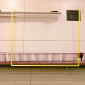 Football Uprights at Indoor Sports Complex.