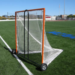Lacrosse goal cart so you can easily move your lacrosse goals.