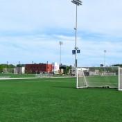 """Model #M88WRD4. 4"""" Rd Frame Wheeled Soccer Goal."""