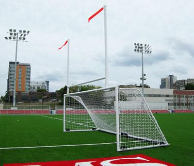 Milwaukee School of Engineering Athletic Field - Keeper Goals