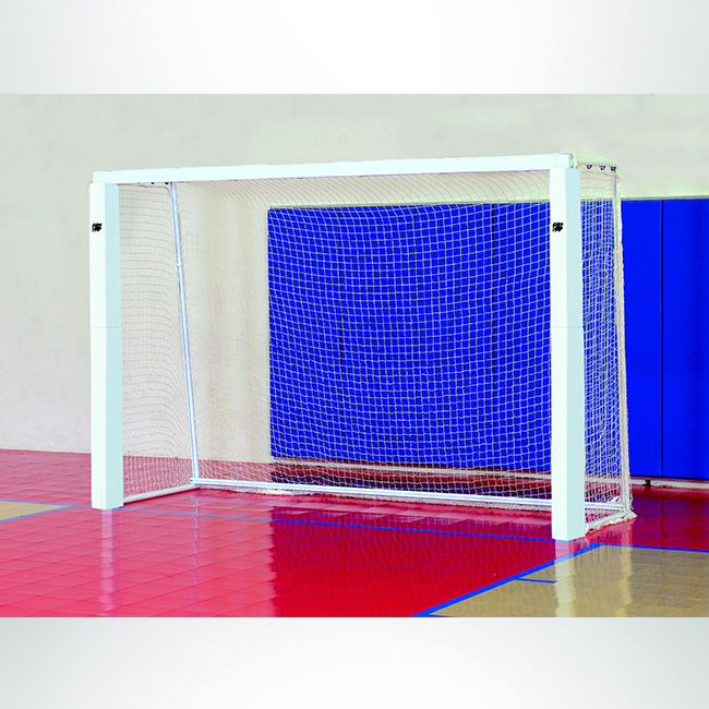 Model #KGSC. Official Futsal Goal. White Frame with White Net.