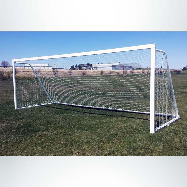 Model #M83824. 8'x24' M-Series Movable Soccer Goal.