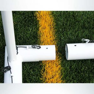 Model #M83RD4. Movable goal sleeve fitted sections for stability on m-series soccer goals.
