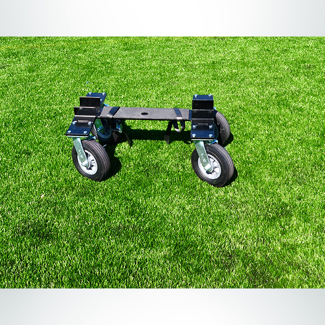 "Model #CMW2CASTER. Caster wheel dolly kit to move soccer goals with 2"" base."