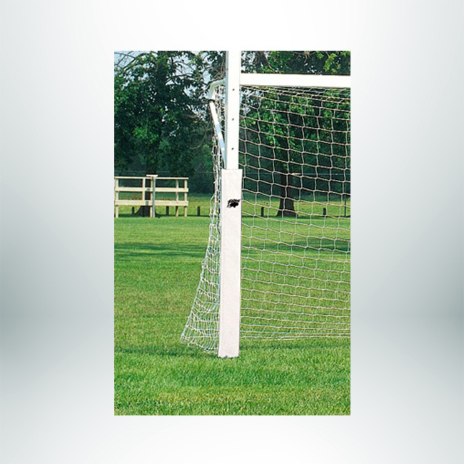 "Model #PADSC24PPDURA42. Padding for Soccer Goal Post. Rectangular, 4""x2"", 3' Long, White."