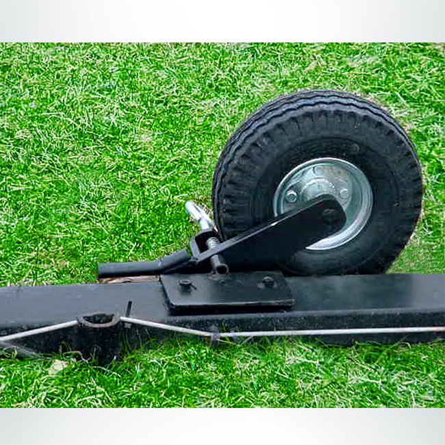 Model #PMW4. Semi Permanent Lifting Wheel Kit for Movable Soccer Goal.