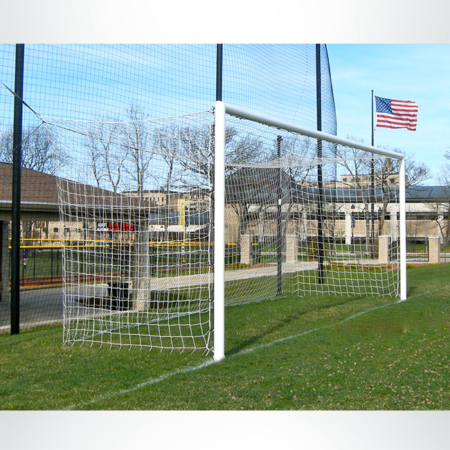 Model #ECONS80. Semi-permanent stadium cup soccer goal.