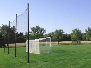 60'x25' Tension Soccer Back-Up Nets.