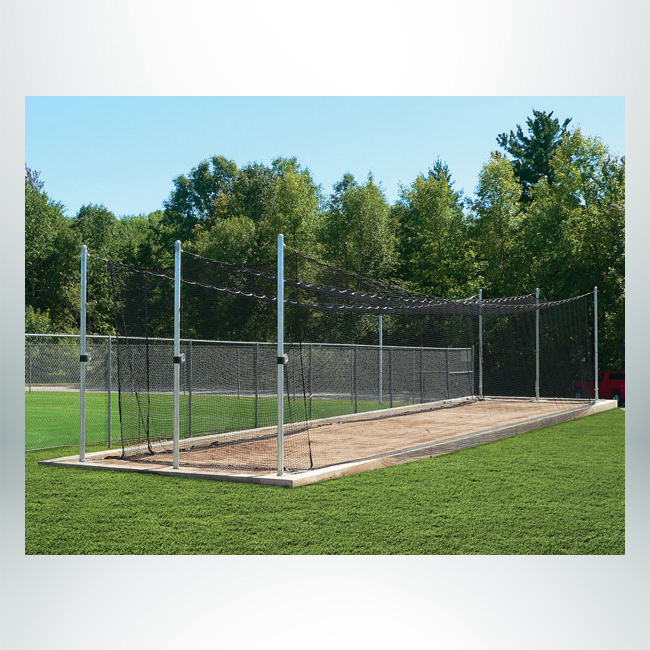 Model #BCTEN70. Outdoor Tension Batting Cage for Baseball.
