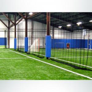 Custom Net Divider for Indoor Soccer or Lacrosse Fields.