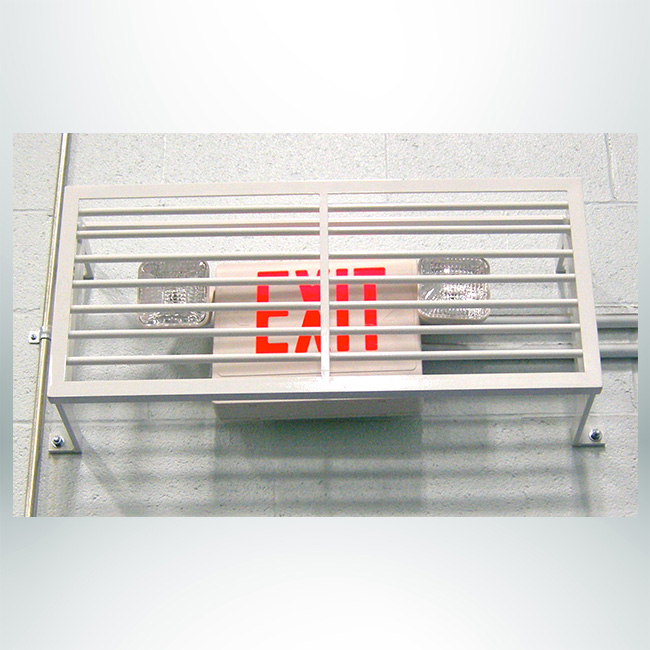 Custom Cover for Exit Sign.