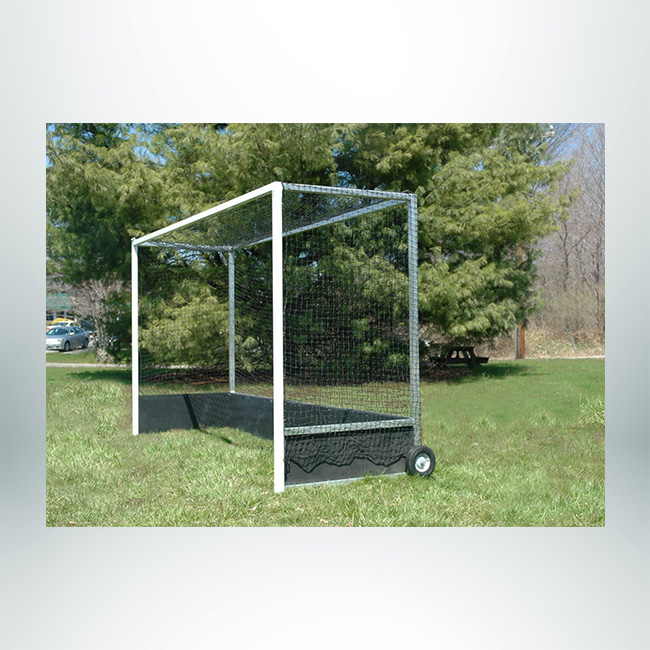 Model #FHG2AL712. Aluminum Field Hockey Goal with Wheels.