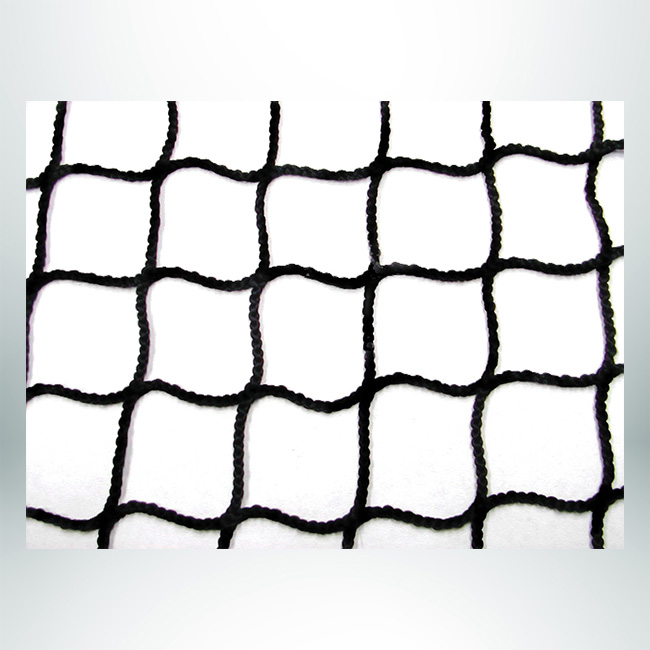 Model #SGN181AND78ONCH. Black Soccer Net, Nylon Mesh.