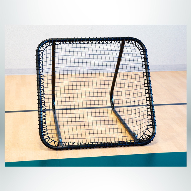 Model #TCHOUCKE. Ball net with powder coated black frame and black net.