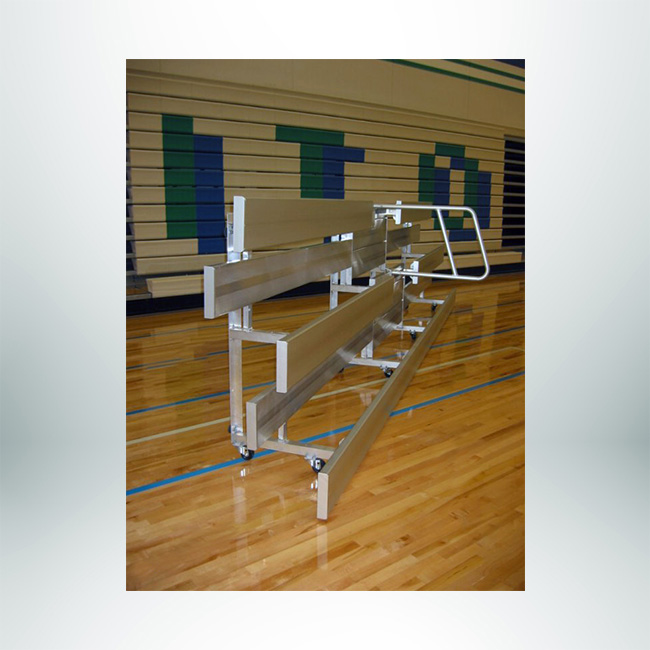Model #TR1. Tip and roll wheel kit to move bleachers.