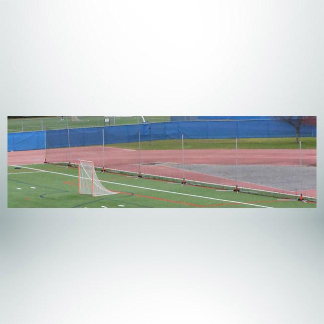Model #LB12120. Free standing lacrosse back-up net.