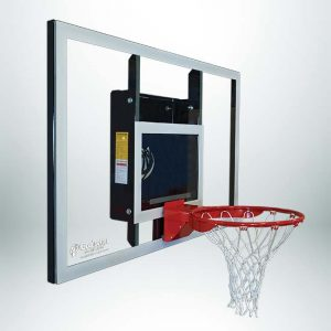 Model #GSBASELINE. Goalsetter Baseline Series Stationary Wall Mount Basketball Hoop.