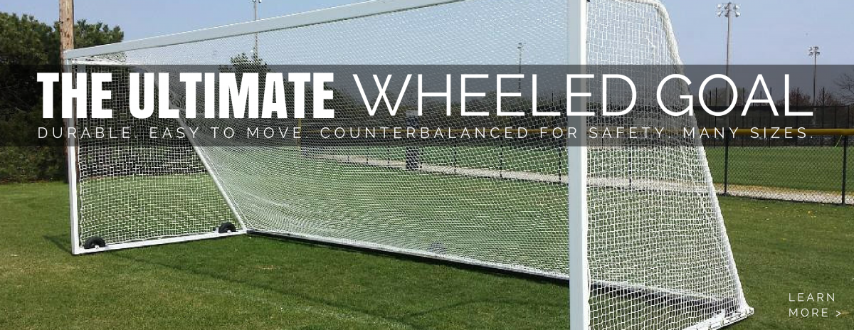 Ultimate Wheeled Soccer Goal.