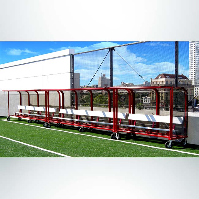 Model #EPPS16. Deluxe European style shelter with wheels.