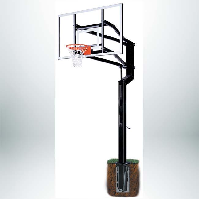 Model #GROUNDANCHOR456. Ground anchor for Goalsetter basketball hoops.