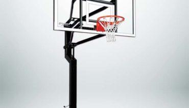 """MVP Adjustable Basketball Hoop with 72"""" Backboard and 6"""" Basketball Pole."""