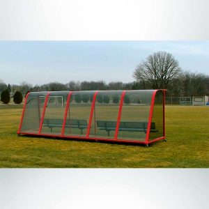 Model #PPS20. Deluxe Standard Style Heavy Duty Team Shelter with Wheels.