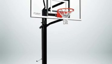 """Model #X672. Extreme Series Adjustable Basketball Hoop with 72 Backboard and 6"""" Square Pole."""