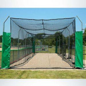 Model #BCMODOUTDOOR70P. Outdoor modular batting cage.