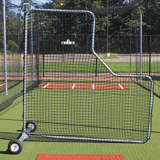 Model #BCPROL. Pitchers L-screen with no padding.