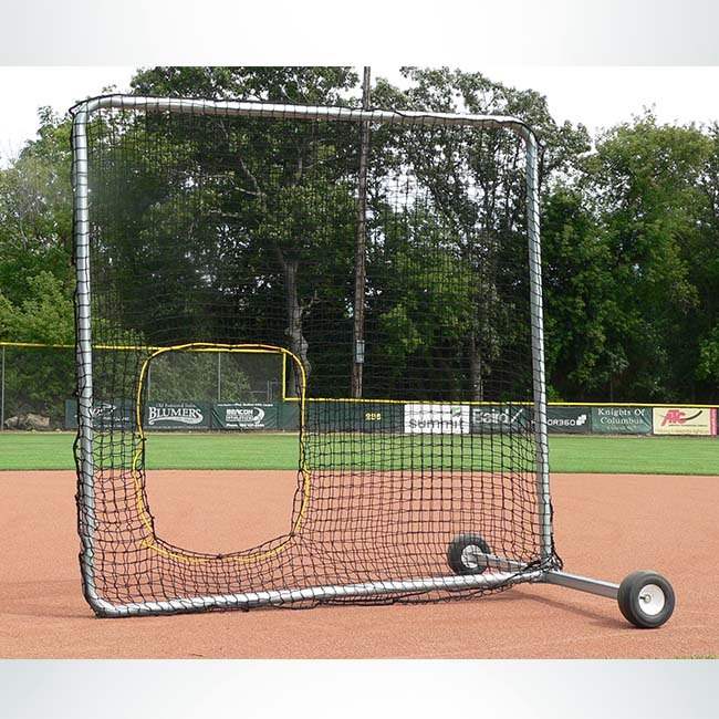 Model #BCPROSS. 7' x 7' softball screen.
