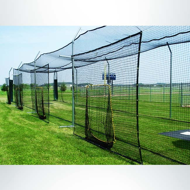 Model #BCTOSS70. Soft Toss Station for Modular Batting Cages.