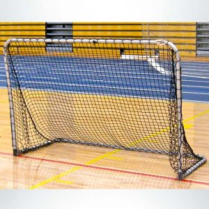 Model #ALUM64. 6'x4' Folding Portable Aluminum Soccer Goal.