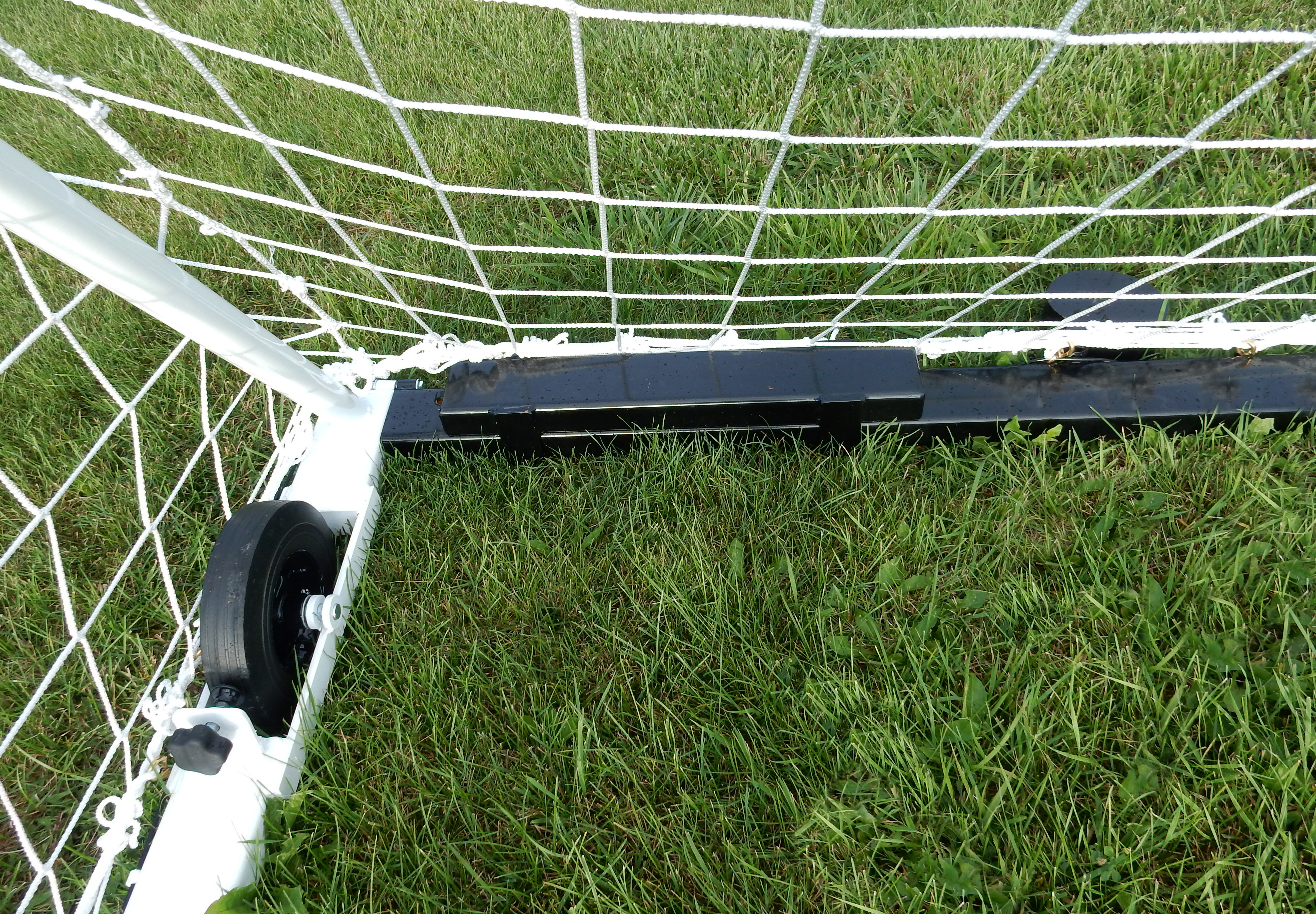 Model #ACW. Flat 25 pound anchor weight for movable soccer goal.