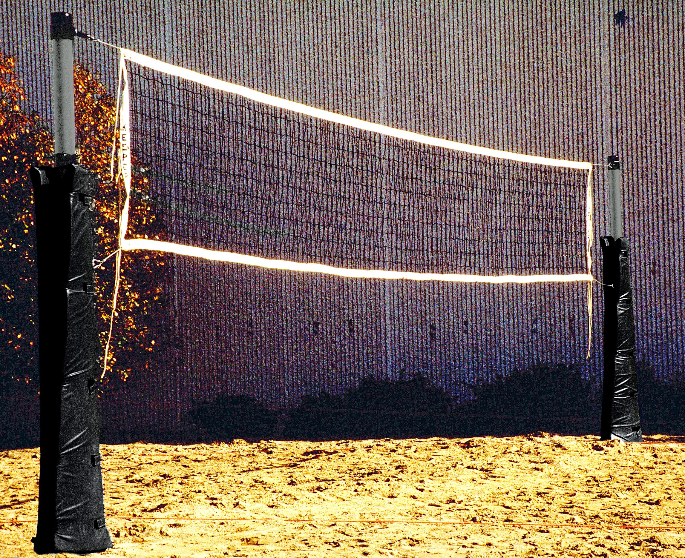 Model #XHD3. Standard outdoor volleyball net.