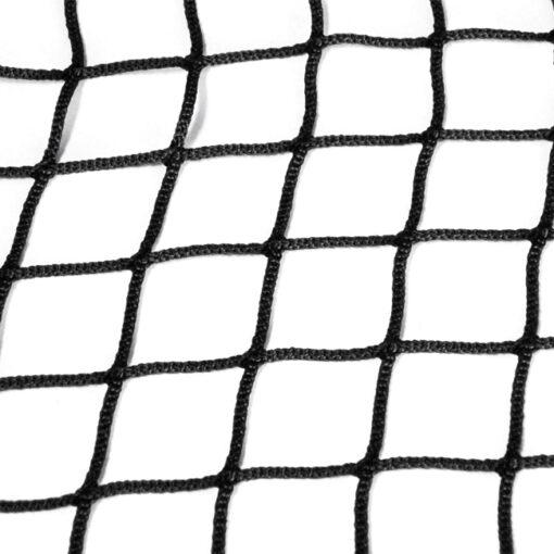 Standard fixed curtain netting.