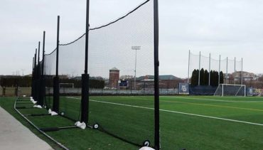 Back-Up Netting Free Standing.