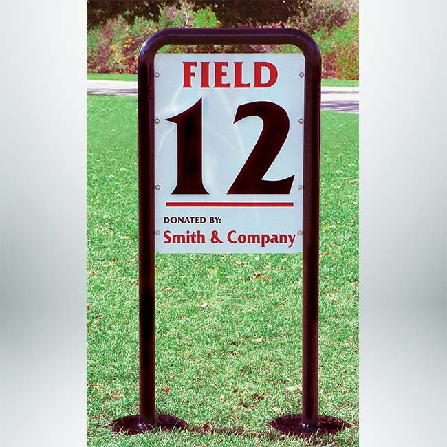 Custom Field Sign.