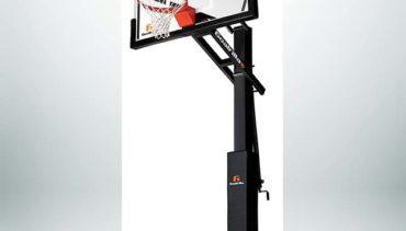 "Model #GOALRILLSCV60. Goalrilla 60"" backboard basketball system."