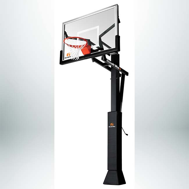 "Model #GOALRILLACV60. 60"" Backboard Basketball System."