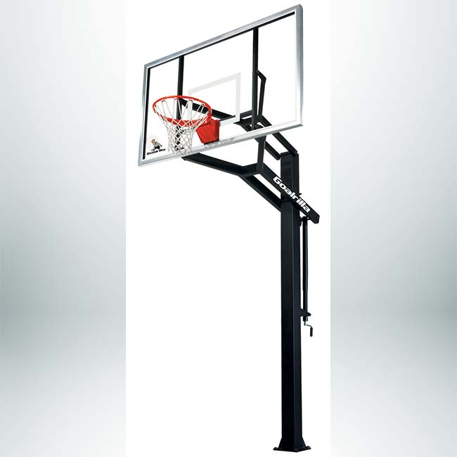 "Model #GOALRILLAGS72. Goalrilla 72"" Backboard Basketball System."