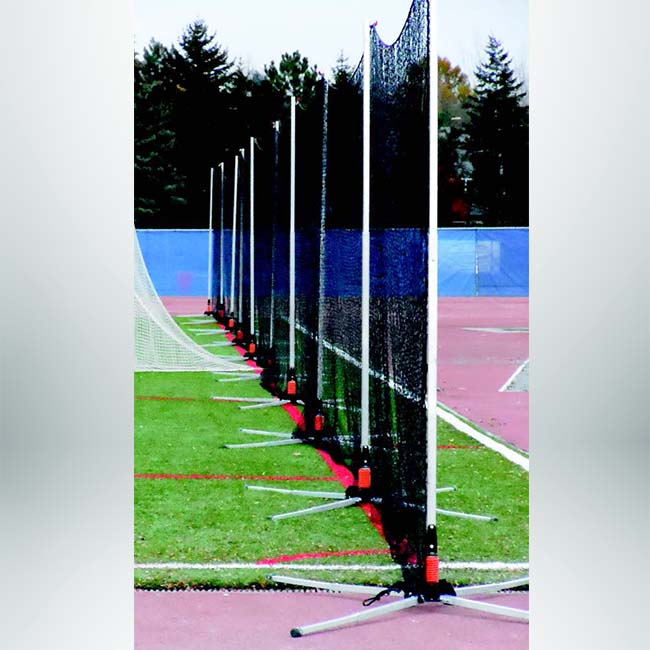 Model #LB12180. Freestanding lacrosse backstop net.