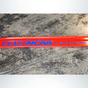 Model #LXGPROLETTERING. Official Lacrosse Goal with Custom Lettering.