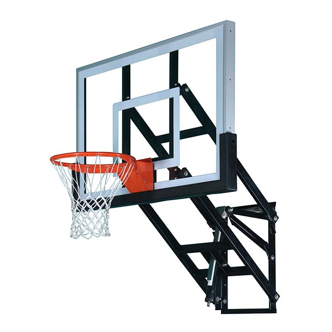 Model #PRO54. 10' wall mount basketball hoop.