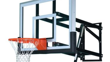 Model #PRO54. Wall Mount Basketball Hoop 8ft.