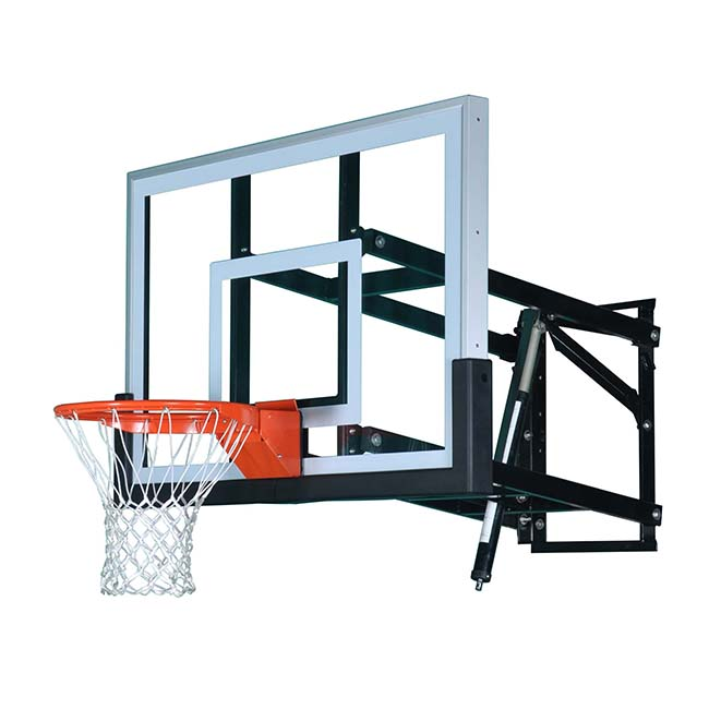 Model #PRO54. 8' wall mount basketball hoop.